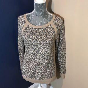 Sweaters - Leopard print loft sweater